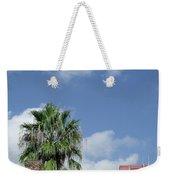 Sky Palm Weekender Tote Bag