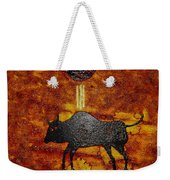 Sky People Taking Buffalo Weekender Tote Bag