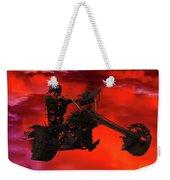 Sky Rider Weekender Tote Bag by Shane Bechler