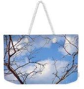 Look At The Blue Sky Weekender Tote Bag