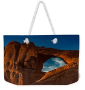 Skyline Arch At Sunset Weekender Tote Bag