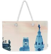 Skyline - Broad Street Philadelphia Weekender Tote Bag