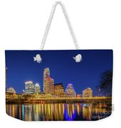 Skyline Of Downtown Austin Weekender Tote Bag