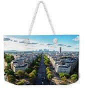 Skyline Of Paris, France Weekender Tote Bag