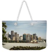 Skyline Of Sydney Downtown  Viewed From Taronga Hill, Australia Weekender Tote Bag