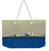 Skyline Of Tampa Bay Florida Weekender Tote Bag