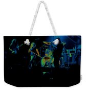 Skynyrd Sf 1975 #10 Crop 2 Enhanced In Cosmicolors Weekender Tote Bag