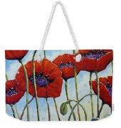 Skyward Poppies Weekender Tote Bag
