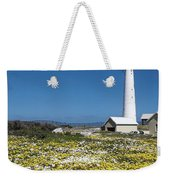 Slangkop Lighthouse, Kommetjie  Weekender Tote Bag