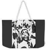 Slate Grey Boxer Weekender Tote Bag