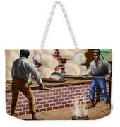 Slaves Refining Sugar Cane Jamaica Train Historical Old South Americana Life  Weekender Tote Bag