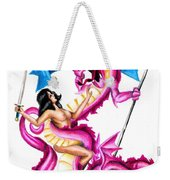 Slaying The Dragon Weekender Tote Bag