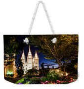 Slc Mother And Children Weekender Tote Bag by La Rae  Roberts