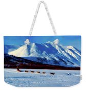 Sledding In Russia Weekender Tote Bag