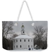 Sledding Weekender Tote Bag