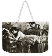 Sleeping Beauty, C1900 Weekender Tote Bag