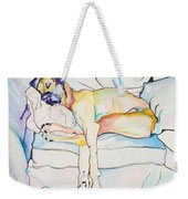 Sleeping Beauty Weekender Tote Bag