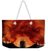 Sleeping Chow Chow Weekender Tote Bag