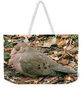 Sleeping Dove Weekender Tote Bag