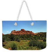 Sleeping Giant At The Garden Of The Gods Weekender Tote Bag