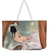 Sleeping In The Nude Weekender Tote Bag