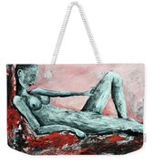 Sleeping In The Sun Without Gladiolus Weekender Tote Bag