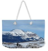 Sleeping Indian Mountain Weekender Tote Bag