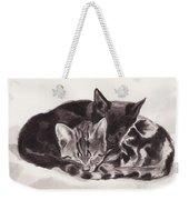 Sleeping Kittens Weekender Tote Bag