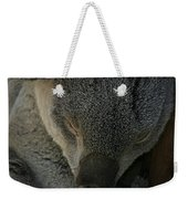 Sleeping Koala Bear Weekender Tote Bag