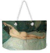 Sleeping Naked Woman Weekender Tote Bag