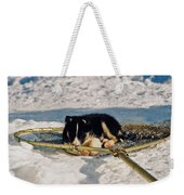 Sleeping Puppy Weekender Tote Bag