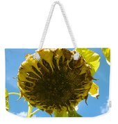 Sleeping Sunflower Weekender Tote Bag