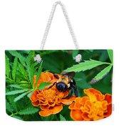 Sleepy Bumblebee Weekender Tote Bag