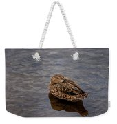 Sleepy Duck Weekender Tote Bag