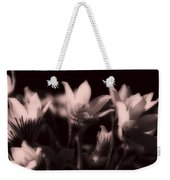 Sleepy Flowers 2 Weekender Tote Bag