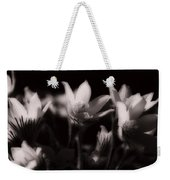 Sleepy Flowers Weekender Tote Bag