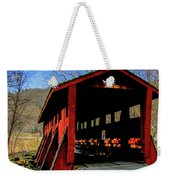 Sleepy Hollow Bridge Weekender Tote Bag