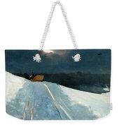 Sleigh Ride Weekender Tote Bag