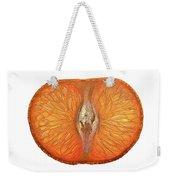Slice Of A Mandarin Orange Weekender Tote Bag