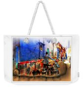 Slice Of Life Milkman Blue City Houses India Rajasthan 1a Weekender Tote Bag