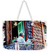 Slice Of Life Sunny Sunday Morning Newspaper India Rajasthan Udaipur 2a Weekender Tote Bag