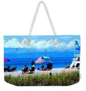 Slice Of Venice Beach Weekender Tote Bag
