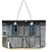 Sliding Barn Doors With Windows Weekender Tote Bag