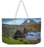 Sligachan Bridge View #h4 Weekender Tote Bag by Leif Sohlman