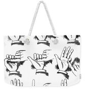 Slight Of Hand Weekender Tote Bag
