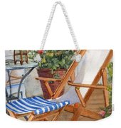 Sling Back Chair Weekender Tote Bag