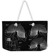 Slinky Patent Design  Weekender Tote Bag