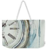Slipping Time Weekender Tote Bag
