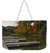Slips In Autumn Weekender Tote Bag