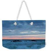 Sliver Of Pink At Moonstone Beach Weekender Tote Bag